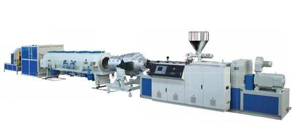 常用口径UPVC或CPVC实壁管材生产线首选上海金纬机械图片